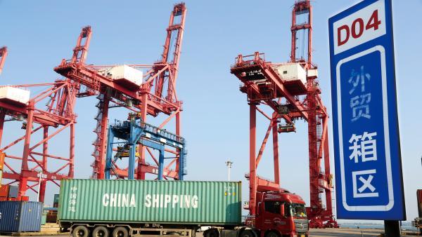 中國連續八年成全球最大貨物貿易國<br/>