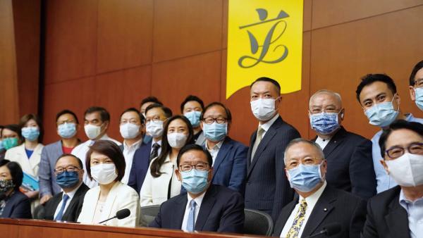 社會各界: 香港迎來由亂入治的重大轉折<br/>The community: Hong Kong ushered in a major turning p...